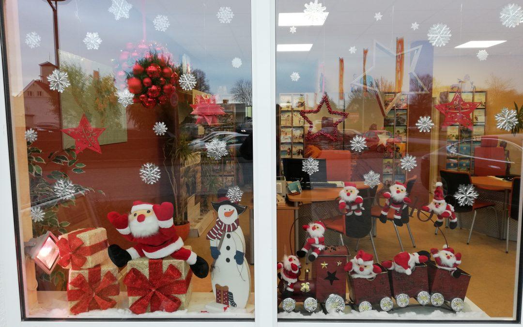 Vorweihnachtliche Grüße aus Ihrem Reisecenter Florstadt